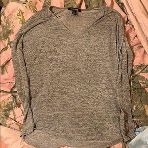 A long sleeve light weight top